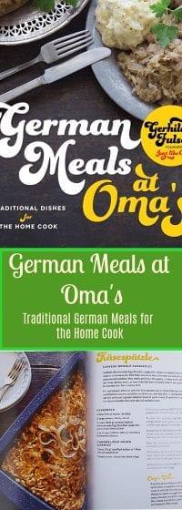 german meals recipes