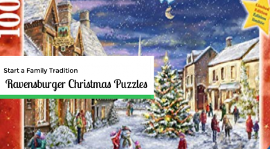 ravensburger Christmas puzzle 1