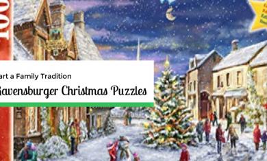 ravensburger Christmas puzzle 1