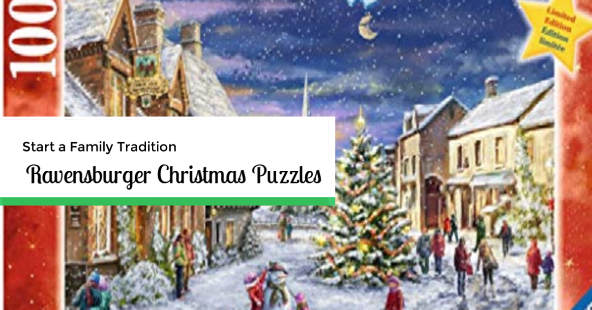 Big Bear Village Christmas.Start A Family Tradition Ravensburger Christmas Puzzles