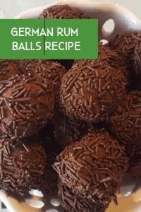 german rum balls recipe