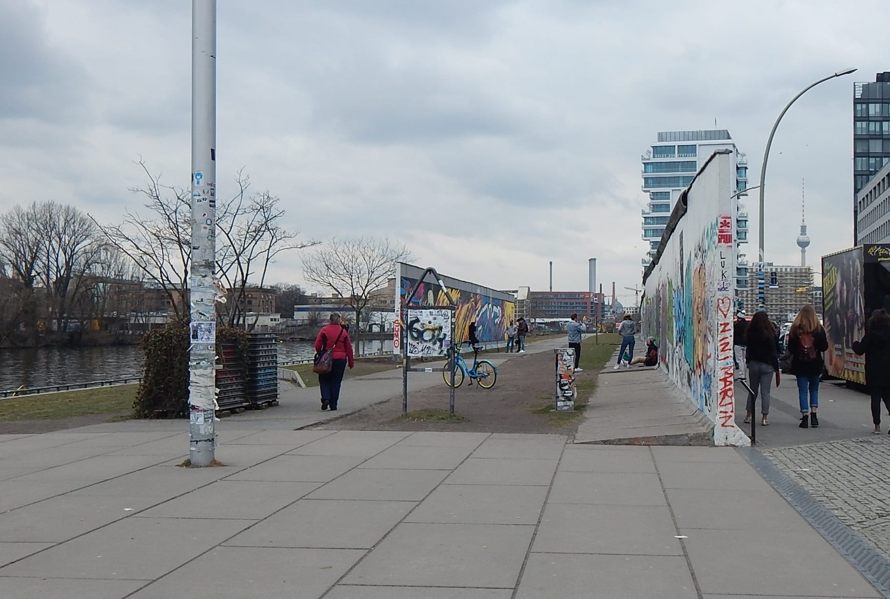 east side wall gallery