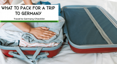 traveling to germany checklist