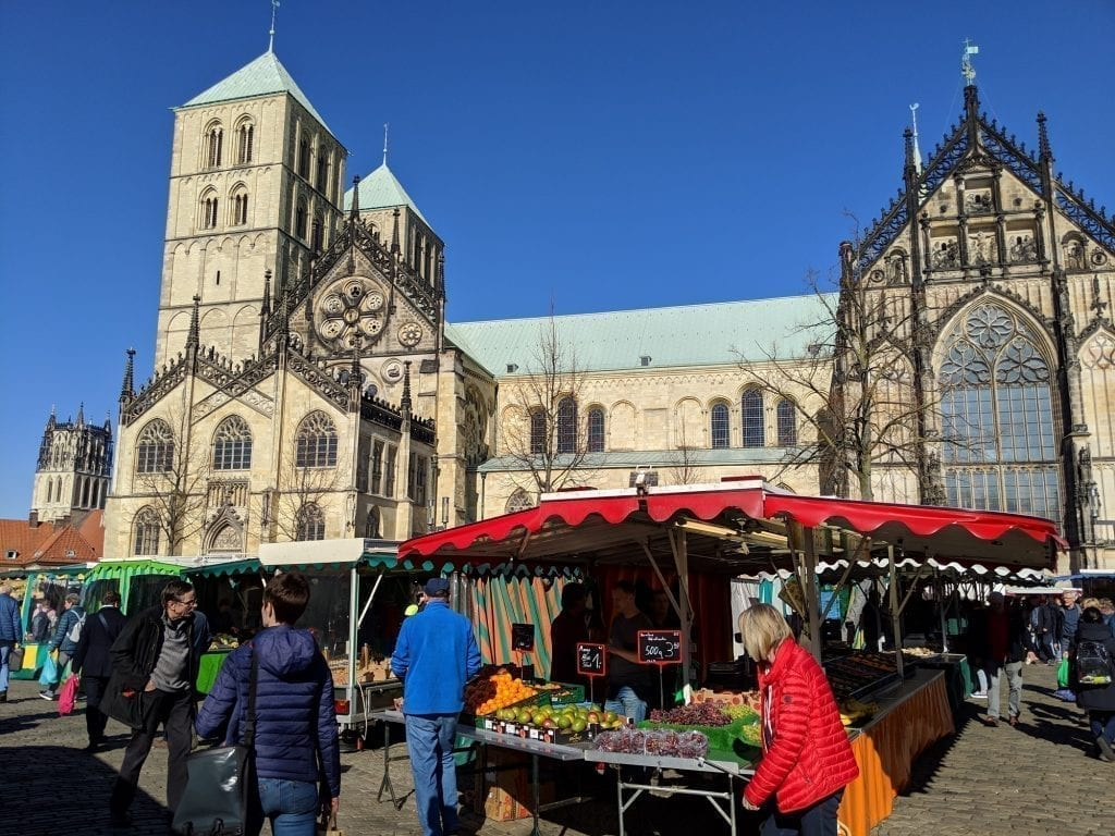 what to do in Muenster