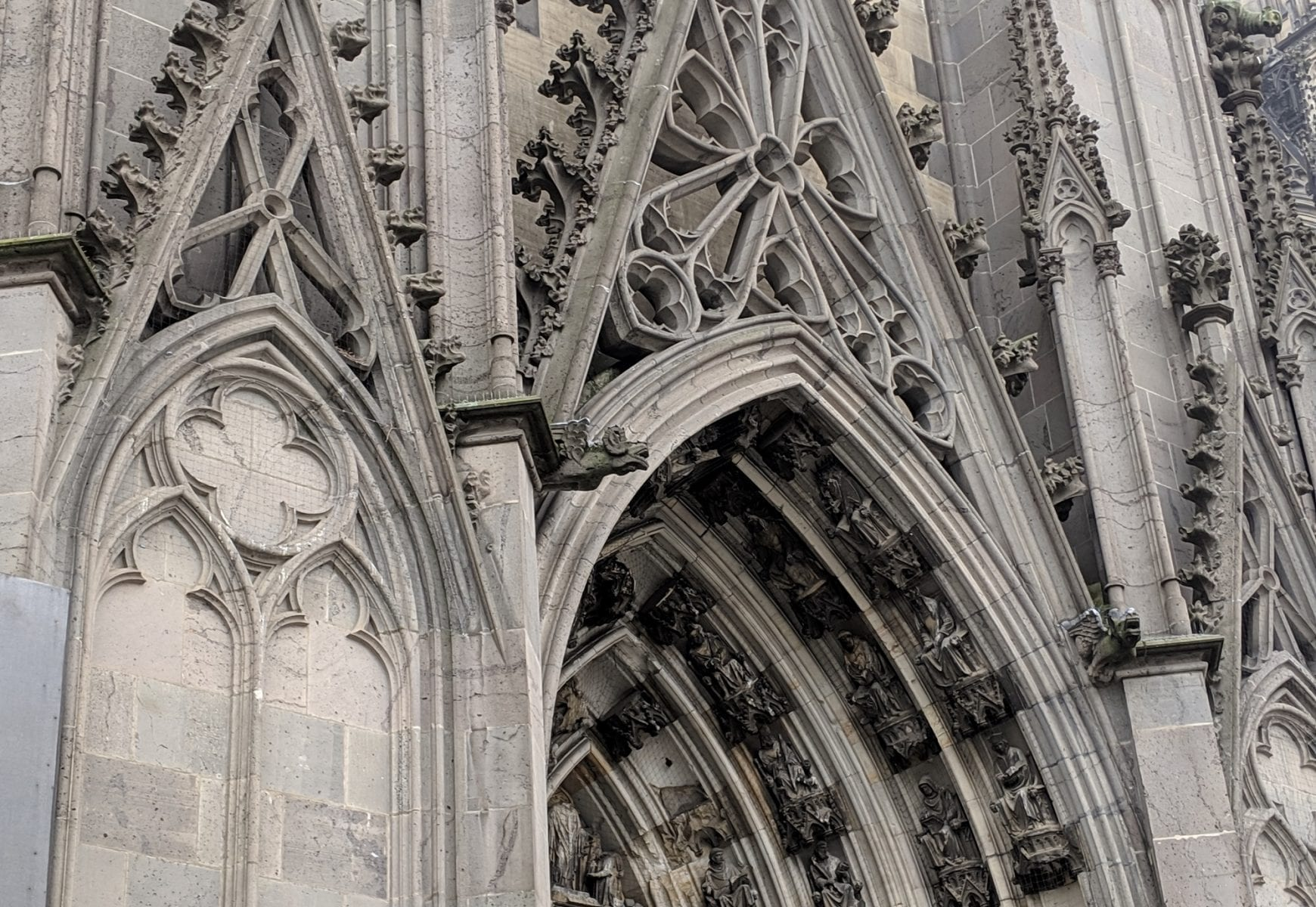 A Visit to the Cologne Cathedral in Germany- Take Time to see the Details