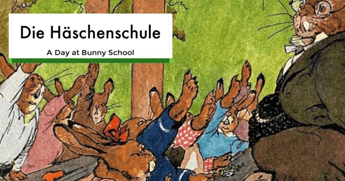 Die Häschenschule  A Day At Bunny School -A German Easter Classic