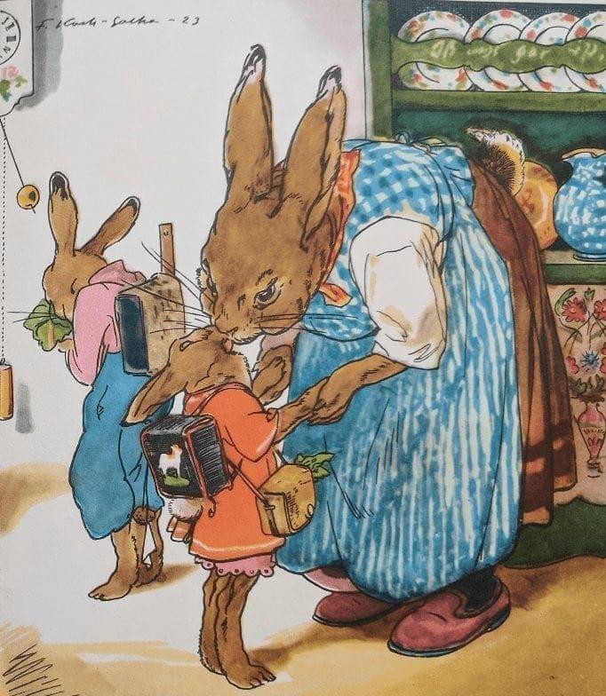 die Häschenschule The Bunny Rabbit school