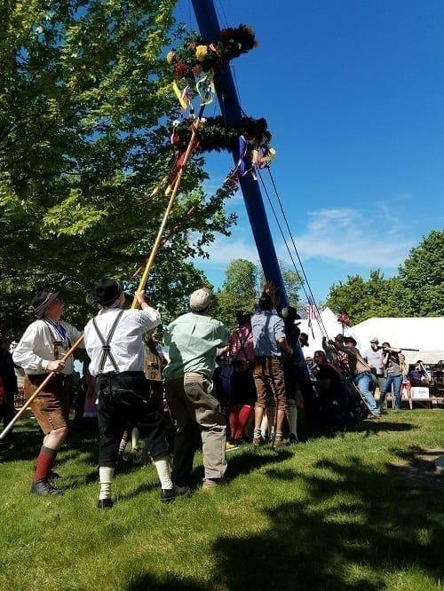 11th annual German Maifest Fundraiser, Watertown MN