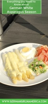 German white asparagus season