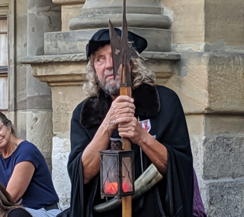 Nightwatchman Tour In Rothenburg ob der Tauber