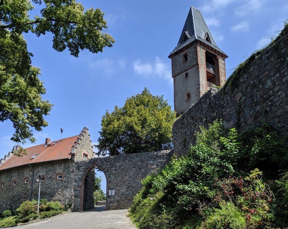 castle Frankenstein in Germany