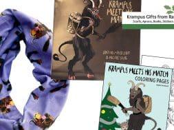 krampus gifts from rare dirndl