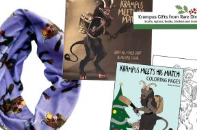 krampus gifts from rare dirndl