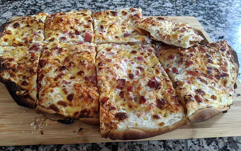 German Flammkuchen Recipe – How to Make Flammkuchen at Home