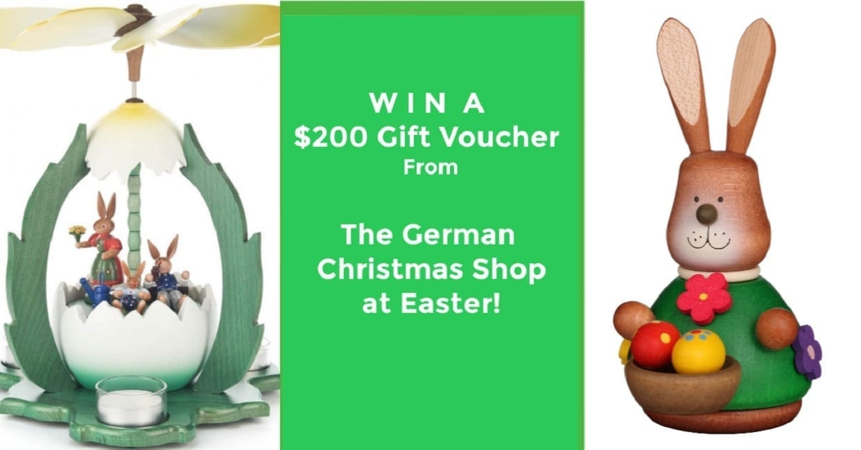 The German Christmas Shop at Easter Favorite Easter or Springtime Memories Giveaway 2020