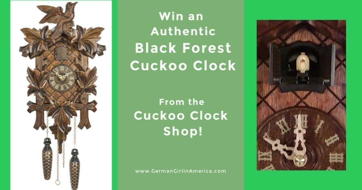 Cuckoo Clock Shop Black Forest Cuckoo Clock Giveaway!