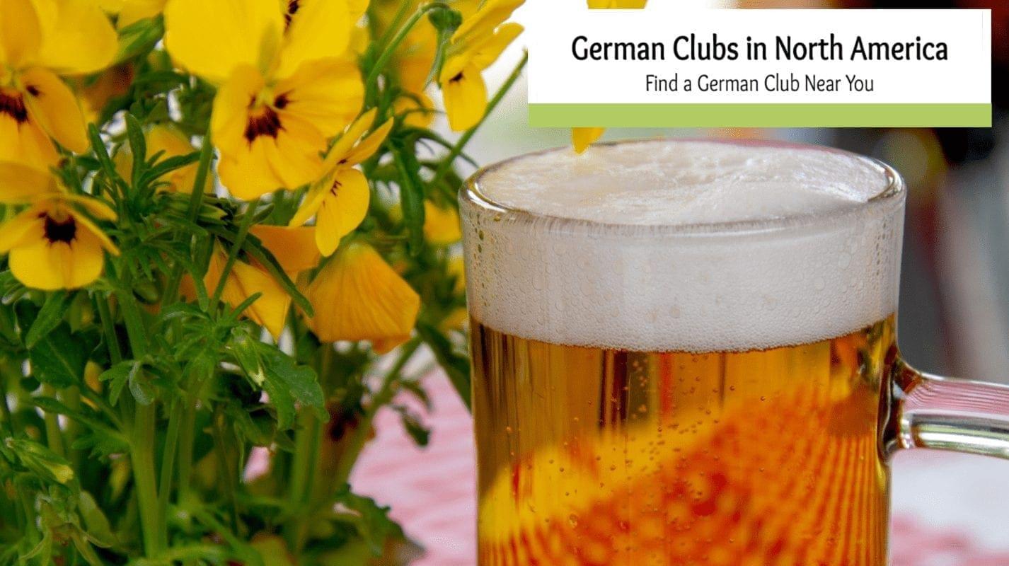 German Clubs in North America- Find a German club Near You!