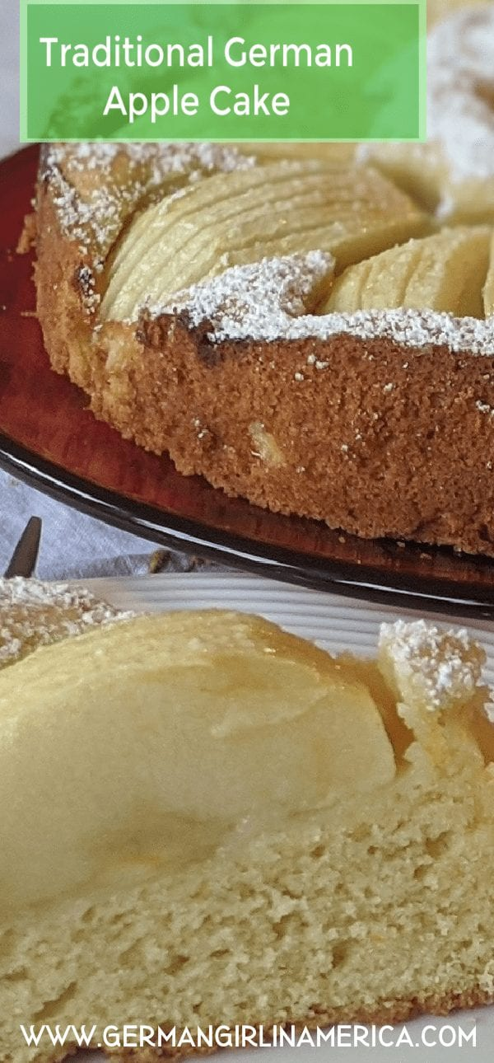 traditional german apple cake recipe