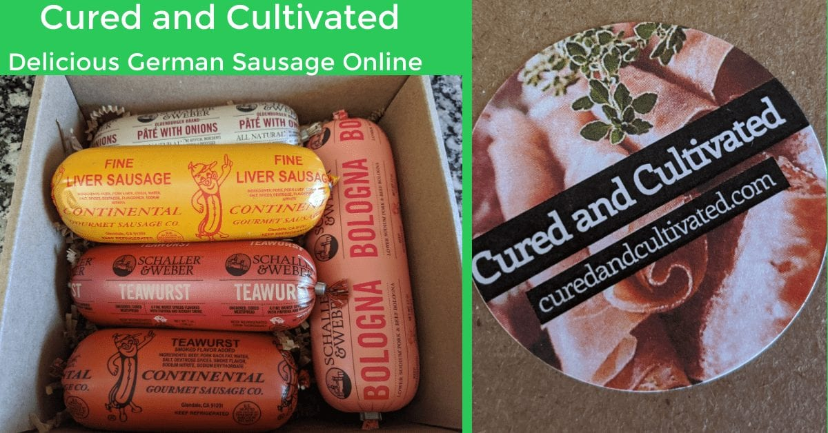 Buy German Sausage Online from Cured and Cultivated
