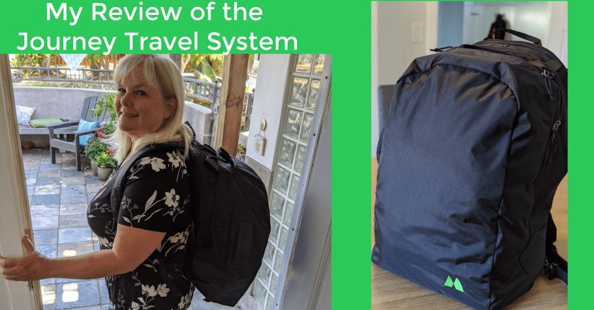 The Journey System -The Best Travel Backpack to Carry On