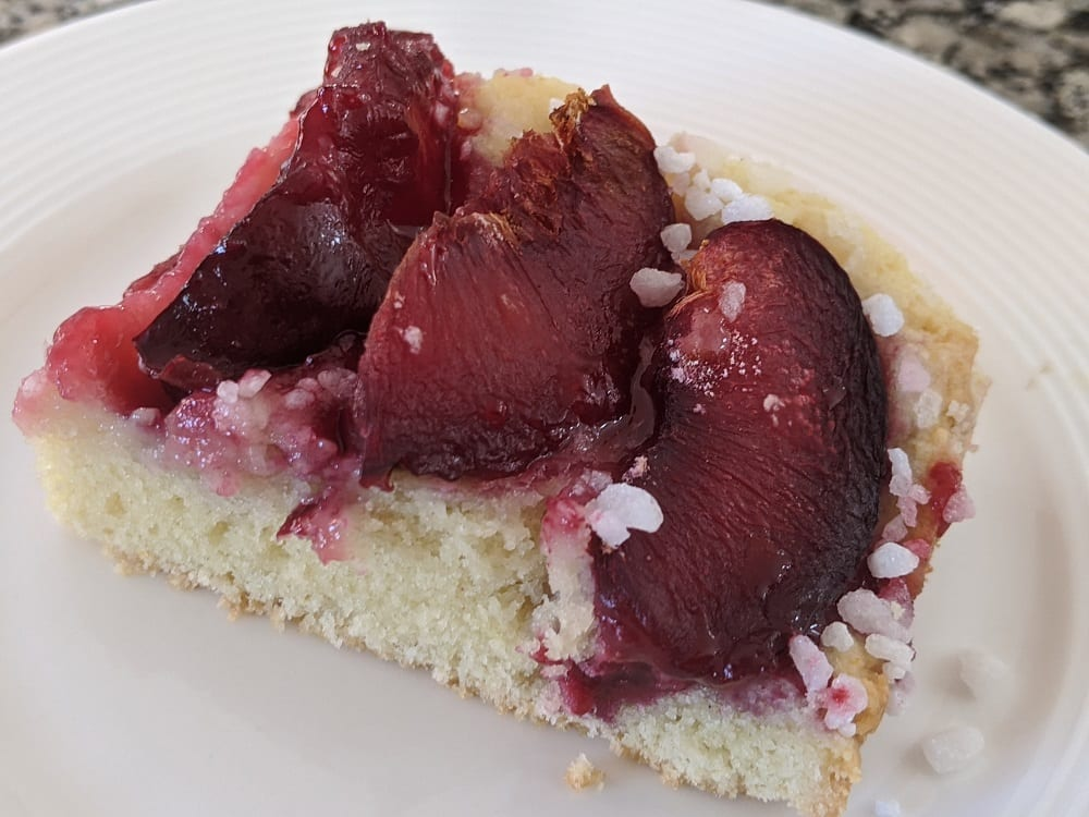 plum sheet cake recipe