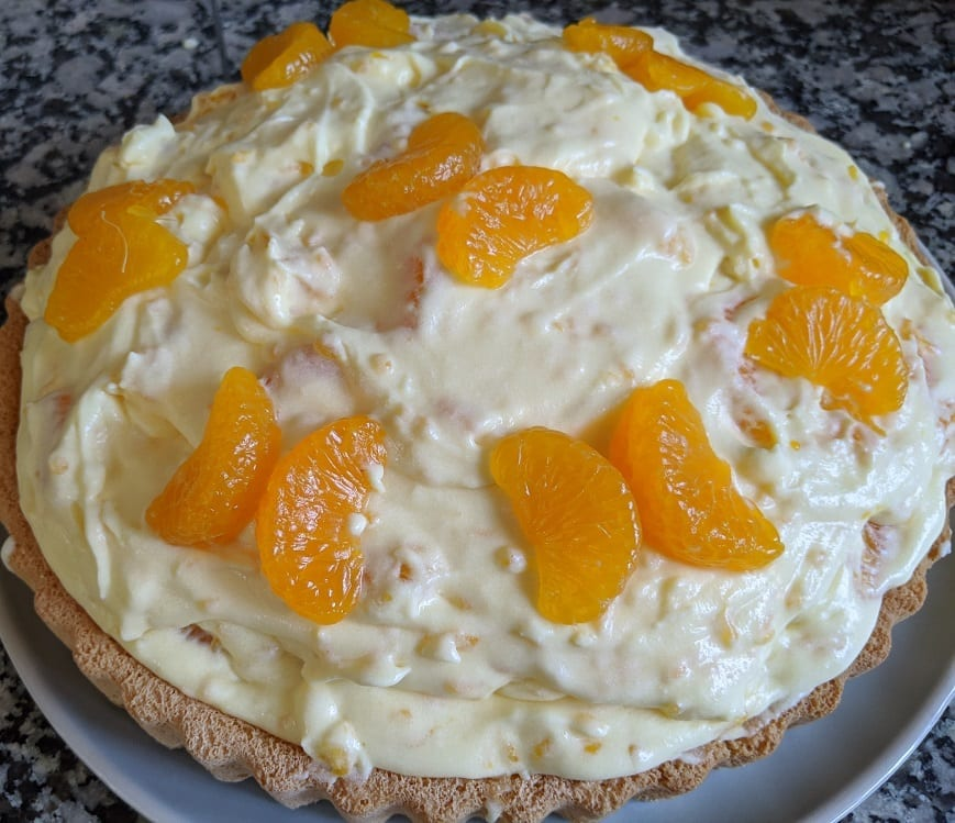 mandarin orange cream cake recipe