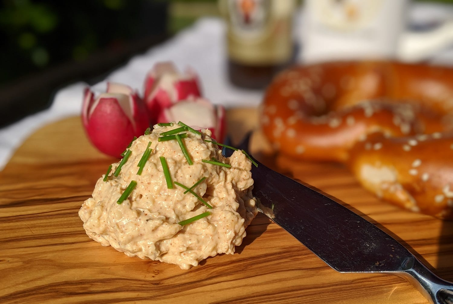 How to make Obatzda – German Beer Cheese Spread