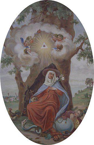 St Edigna Linden tree