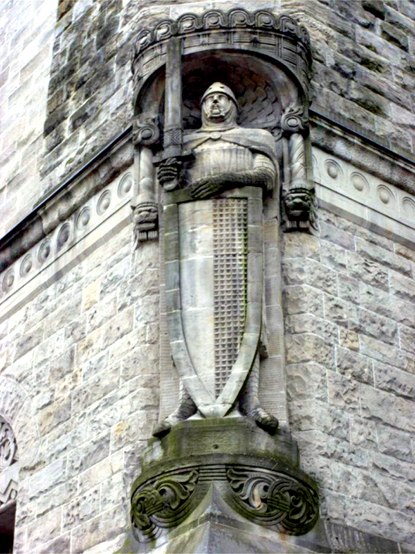 statues of roland