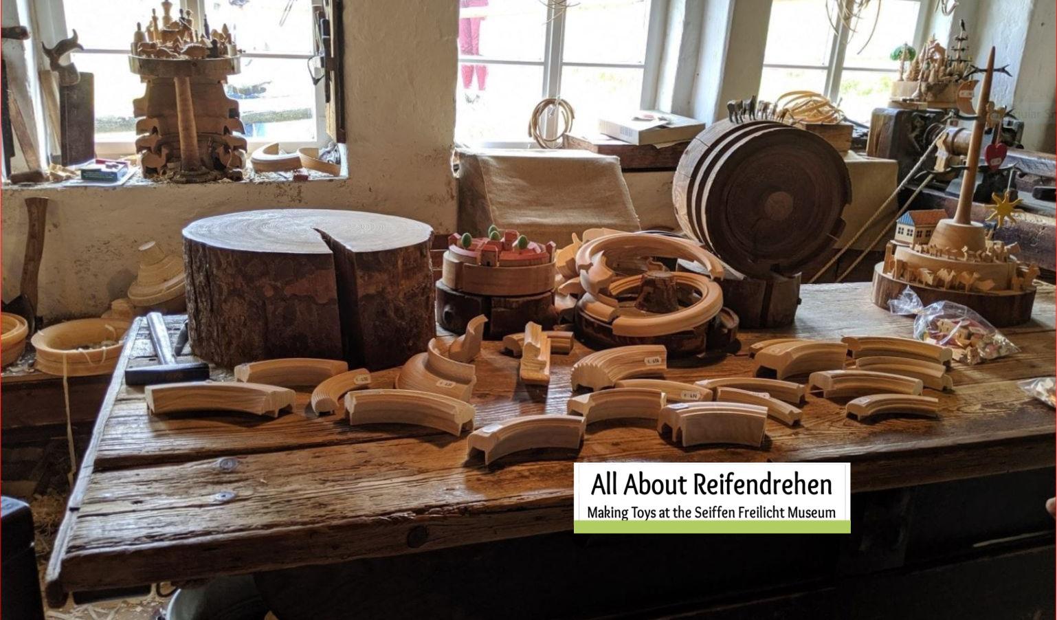 What is Reifendrehen- Making Toys at the Seiffen Freilicht Museum