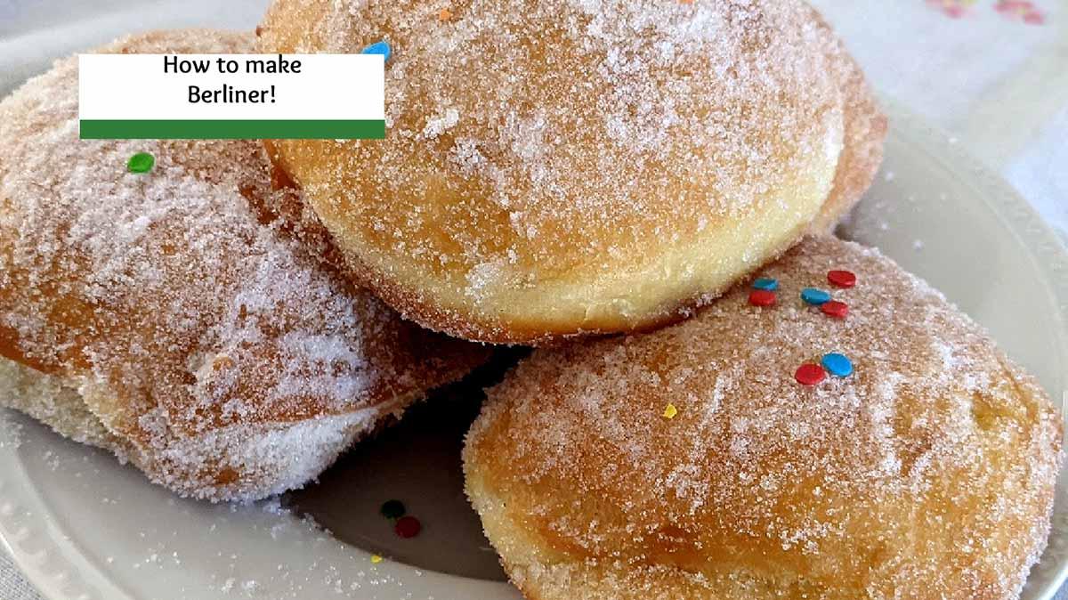Make this Fairly Easy Berliner Recipe for Karneval!