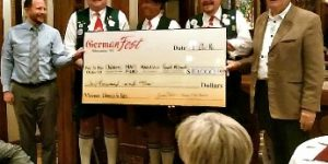 A Generous Germanfest Milwaukee Community Donates to Kids
