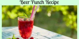 Erdinger's Raspberry Beer Punch Recipe - A German Weissbierbowle Recipe
