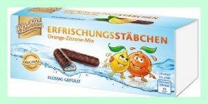 Erfrischungsstäbchen -Orange Filled Chocolates