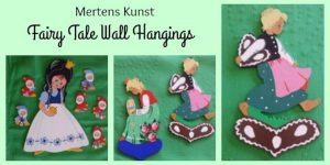 German Fairy Tale Wall Art -Wandfiguren from Mertens Kunst