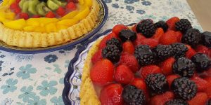 German Fruit Flan Recipes - Make an Obstboden!