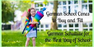 German School Cones- Schultüte for the First Day of School, Buy them HERE