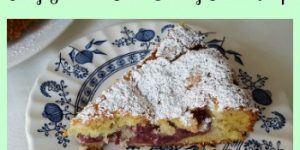 Easy and Delicious German Sour Cherry Cake Recipe