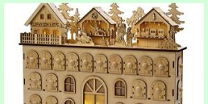 German Wooden Advent Calendars- Use them Every Year!