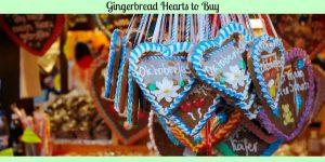 Gingerbread Hearts to Buy -German Heart Cookies for your Schatzi!