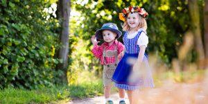 Traditional German Clothes for Kids - Dirndls and Lederhosen for Little Ones