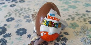 German Kinder Eggs- The Delicious Chocolate Eggs with a Toy Inside