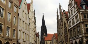 Three Cages in Münster Germany -What was the Anabaptist Rebellion?