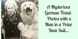 A Mysterious German Trend-  Photos with a Man in a Polar Bear Suit...