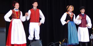 Traditional German Tracht Show at German Fest, Milwaukee