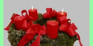 Traditional German Advent Wreath - Advents Kranz