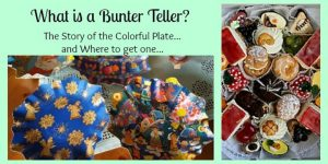 What is a Bunter Teller? A Plate of Christmas Cookies for Everyone!