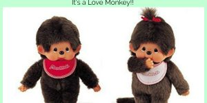 What is a Monchhichi?? It's a LOVE MONKEY!