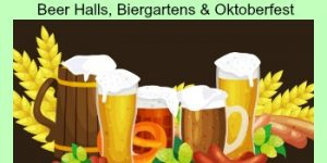 Where to Get a Beer in Munich... Munich Beer Halls, Beer Gardens and Oktoberfest