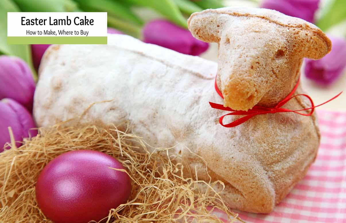 German Easter Lamb Cake -Recipe and Lamb Molds